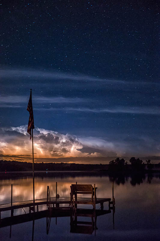 lightningoverlake