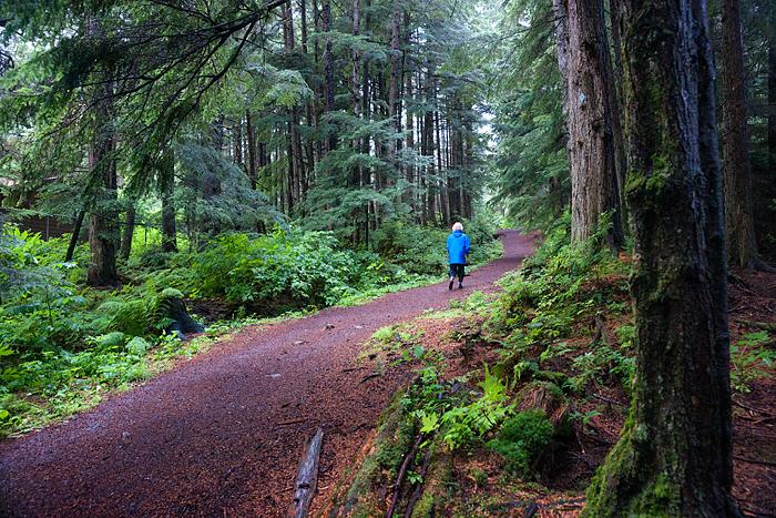 Auk Nu trail Juneau Alaska
